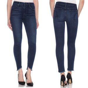 Joes Jeans Blondie Ankle Skinny Jeans Fray Hem
